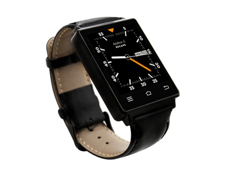 Smartwatch NO.1 D6 Preto — Bluetooth | 450 mAh | Android e iOS