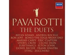 CD Pavarotti - The Duets — Clássica