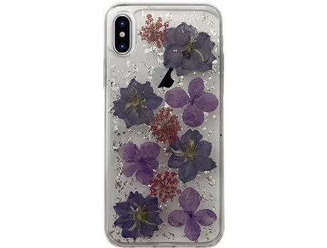 Capa PURO Hippie chic iPhone X Roxo — Compatibilidade: iPhone X