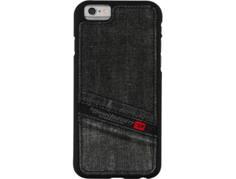 Capa DIESEL Moulded Case iPhone 6, 6s Preto — Compatibilidade: iPhone 6, 6s