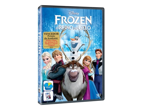 DVD Frozen - O Reino do Gelo — De: Chris Buck, Jennifer Lee | Com: