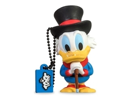 Pen USB 3D DISNEY Tio Patinhas 8GB — 8 GB | USB 2.0