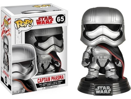 Figura Vinil FUNKO POP! Star Wars: Captain Phasma — Star Wars