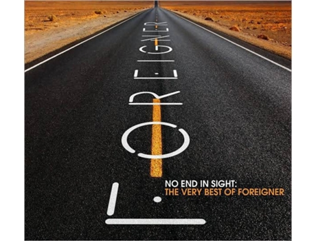CD2 Foreigner - No End in Sight -The very best — Pop-Rock