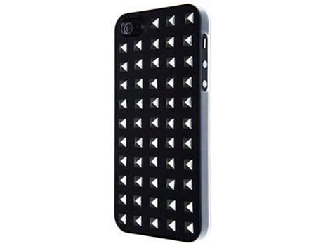 Capa VCUBED3 Square iPhone 5/5S/Se Preto e Silver — Capa / iPhone 5/5S/Se
