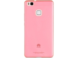 Capa MUVIT Crystal Soft Huawei P9 Lite Rosa — Compatibilidade: Huawei P9 Lite