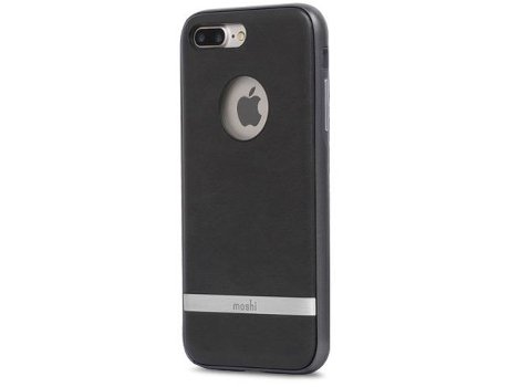 Capa MOSHI Napa iPhone 7, 8 Preto — Compatibilidade: iPhone 7, 8