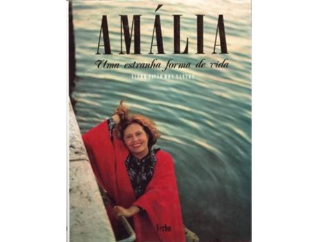 Marca do fabricante - Livro Amália - Uma Estranha Forma De Vida de Vitor Pavao Santos