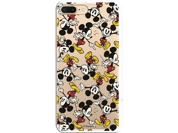 Capa iPhone 7 Plus, 8 Plus LA CASA DE LAS CARCASAS DISNEY Mickey Multicor