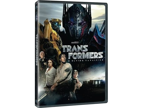 DVD Transformers - O Último Cavaleiro — De: Do realizador Michael Bay / Com: Mark Whalberg, Anthony Hopkins, Josh Duhamel