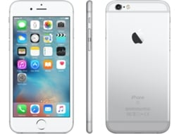 Smartphone APPLE iPhone 6s 128GB Prateado — iOS 9 | 4.7'' | A9