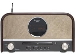 Rádio Classic c/ Bluetooth SOUNDMASTER NR850 — Com Bluetooth