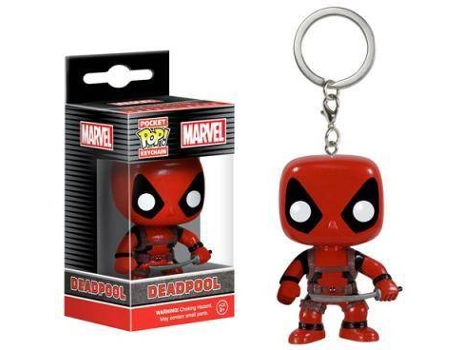 Porta-Chaves FUNKO POP! Marvel: Deadpool — Marvel