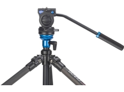 Tripé BENRO S2 VIDEO HEAD — Até 2.5 Kg