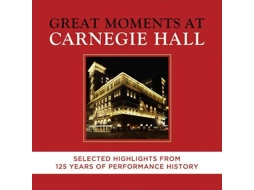 CD Varios Artistas - Carnegie Hall: 125th Anniversary Edition — Clássica