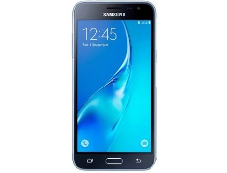 Smartphone MEO SAMSUNG Galaxy J3 2016 8GB Preto — Android 5.1 / 5.0'' / Quad core 1.5 GHz / 1.5 GB RAM