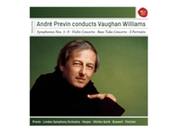 CD Andre Previn - Conducts Vaughan Williams — Clássica