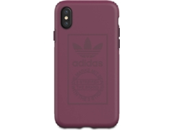 Capa ADIDAS Shockproof Techink iPhone X, XS Rosa — Compatibilidade: iPhone X, XS
