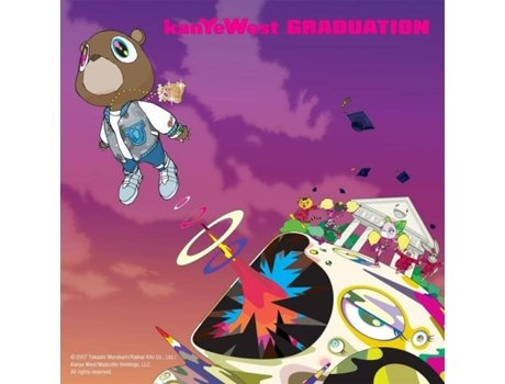 CD Kanye West - Graduation — Hip-Hop/Soul/R&B