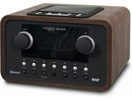 Rádio TANGENT Alio Baze CD/DAB+/FM/BT Walnut — CD/DAB+/FM/Bluetooth