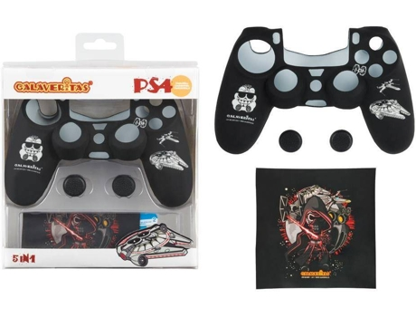 Kit Essencial para Comando PS4 Calaveritas — PS4
