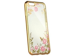 Capa iPhone 11 Pro LMOBILE Diamond Dourado
