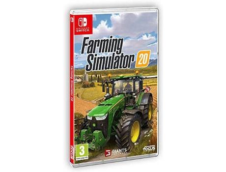 Jogo Nintendo Switch Farming Simulator 20