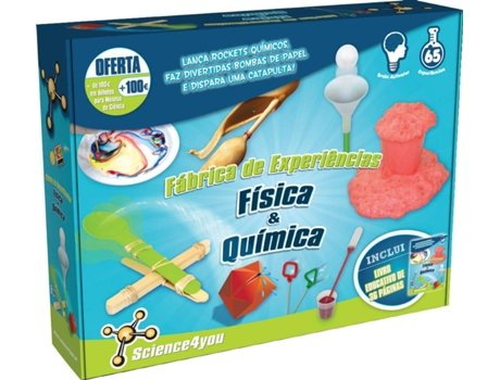 Fábrica de Experiências SCIENCE4YOU Física e Química — Science4You