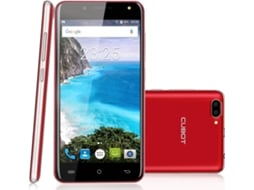 Smartphone CUBOT Rainbow 2  6GB Vermelho — Android 7.0 / 5.0'' / MTK6580 Quad Core 1.3GHz