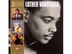 CD Luther Vandross - 3 Original Album Classics Never Too Much / Give Me The Reason / Power Of Love
