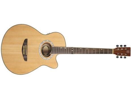 OQAN - Guitarra Eletro-Acústica OQAN QGA-40CE (22 Trastes - Corpo: Madeira de Abeto e Tília)