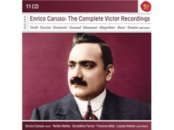 CD Enrico Caruso - The Complete Victor Recordings — Clássica