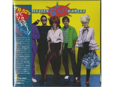 CD The B-52's - Sixteen Dances