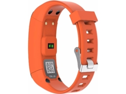 Smartwatch NO.1 F1 Laranja — Bluetooth 4.0 | 230 mAh | Android e iOS