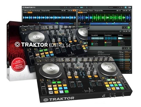 Controlador DJ NATIVE INSTRUMENTS Kontrol S4 MK2 LC — Compatibilidade: Mac / Pc
