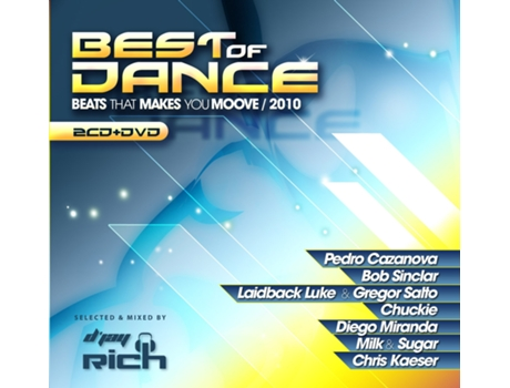 CD/DVD Vários-Best Of Dance - Beats That Makes You Move 2010 — House / Electrónica