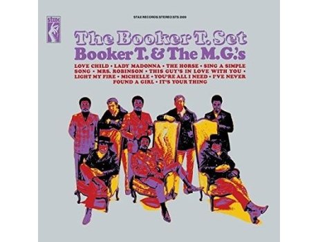 Vinil Booker T & The Mgs - The Booker T Set — Jazz