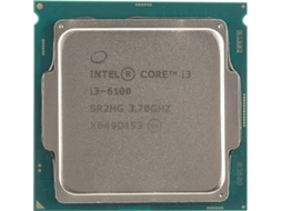 Processador Intel Core I3 6100 3.7 GHz 3MB Skylake — Intel Core I3 6100 / 3.7 GHz