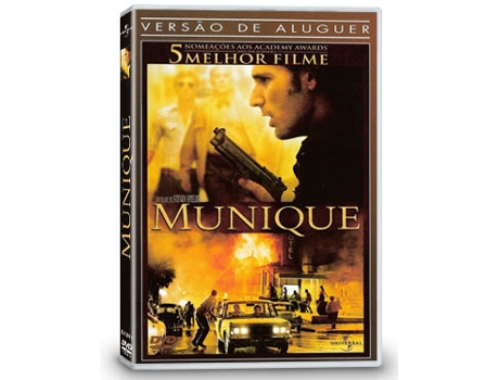 DVD Munique — De: Steven Spielberg