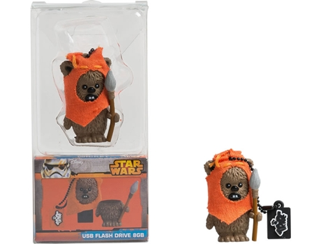 PEN USB 3D STAR WARS Wicket Warrick 8GB — 8 GB | USB 2.0