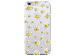 Capa BENJAMINS Daisy iPhone 6, 6s Amarelo — Compatibilidade: iPhone 6, 6s