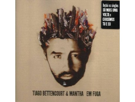 CD Tiago Bettencourt & Mantha - Em Fuga — Alternativa/Indie/Folk
