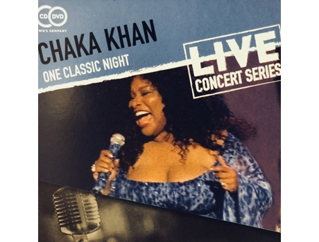 CD+DVD Chaka Khan - One Classic Night