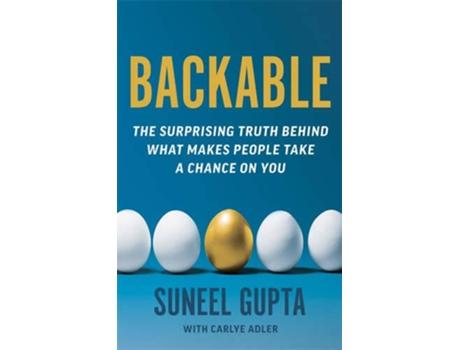 Livro Backable de Suneel Gupta (Inglês)