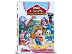 DVD A Casa do Mickey Mouse: A Quinta do  Mickey e do Donald (Dobrado: Sim) — De: Disney