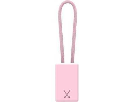 Cabo KEYCHAIN Philo Lightning 20Cm Rose — Lightning - USB
