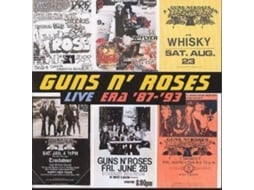 CD Guns n' Roses - Live Era 87 a 93 — Pop-Rock