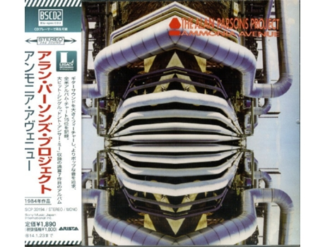 CD The Alan Parsons Project - Ammonia Avenue