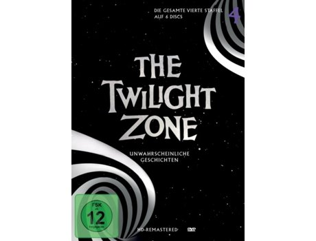 DVD The Twilight Zone Inglês