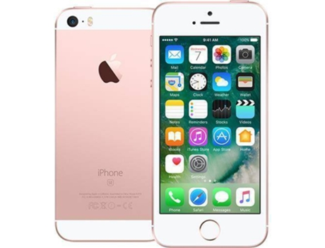Smartphone APPLE iPhone SE 128GB Rosa Dourado — iOS 10 / 4'' / A9